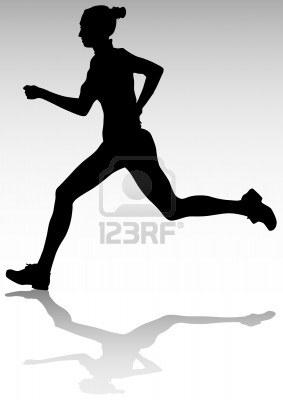 Dessiner Une Silhouette De Femme 7038769-dessin-femme-athlete-qui-court-silhouette-des-sportifs | must